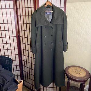Vintage Wool Burberry Coat